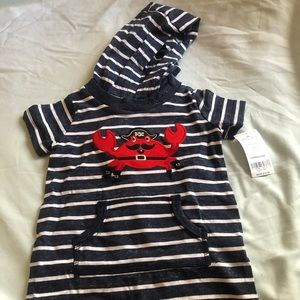 Hooded bodysuit from Carters NWT